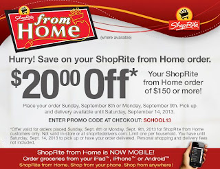 To save money at ShopRite, first you need to register for a Shopper's Card (free). From there, you can use their circular of sale items to create your shopping list. Then proceed to their Coupons section to load which coupons you want to use onto your card to have them 82%().
